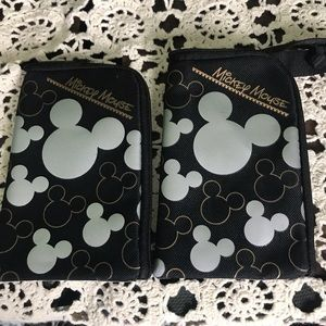 (2) small Mickey Mouse wallets